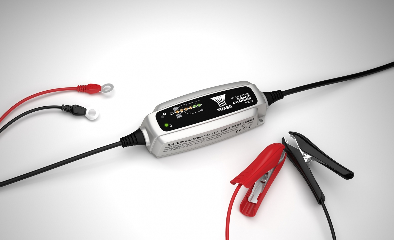 Batteri Lader 12 Volt 0 8 Amp Ycx08a12e Batteri Yuasa
